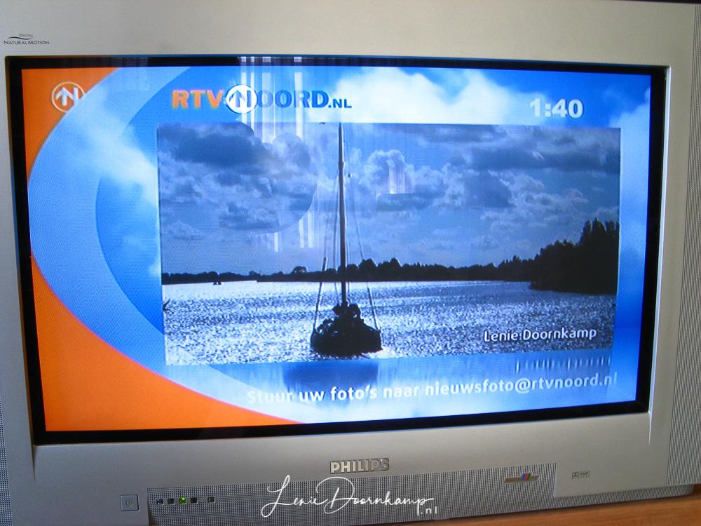 Mijn foto op RTV Noord