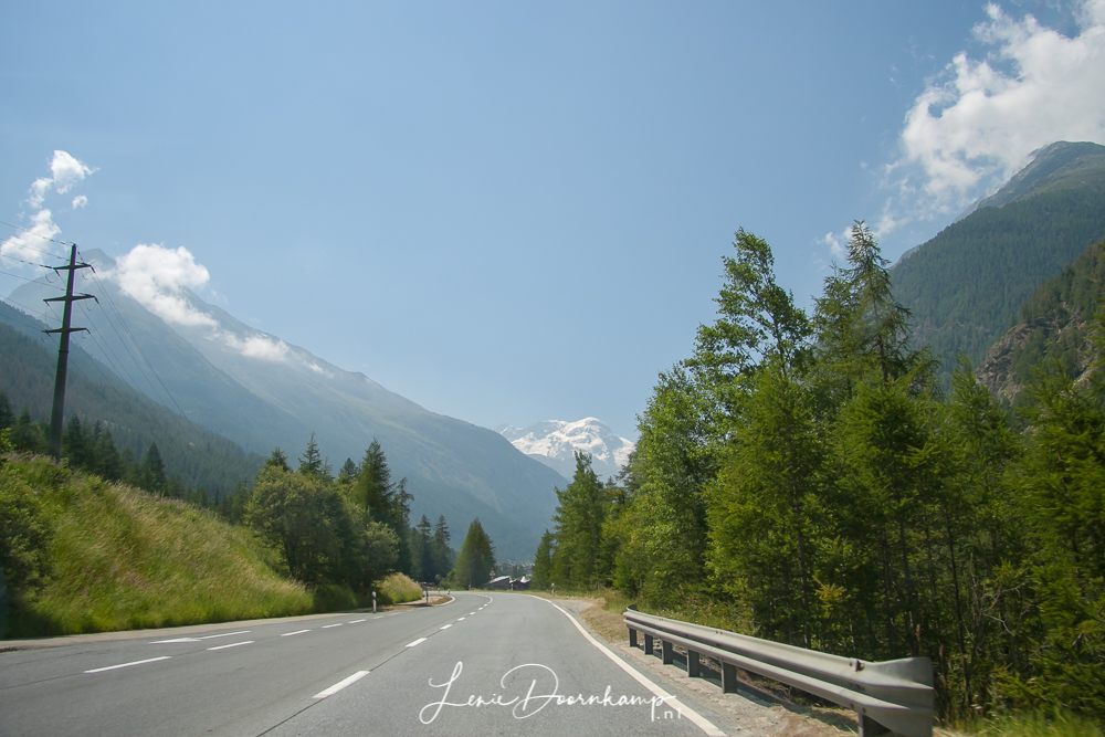 uitzicht onderweg