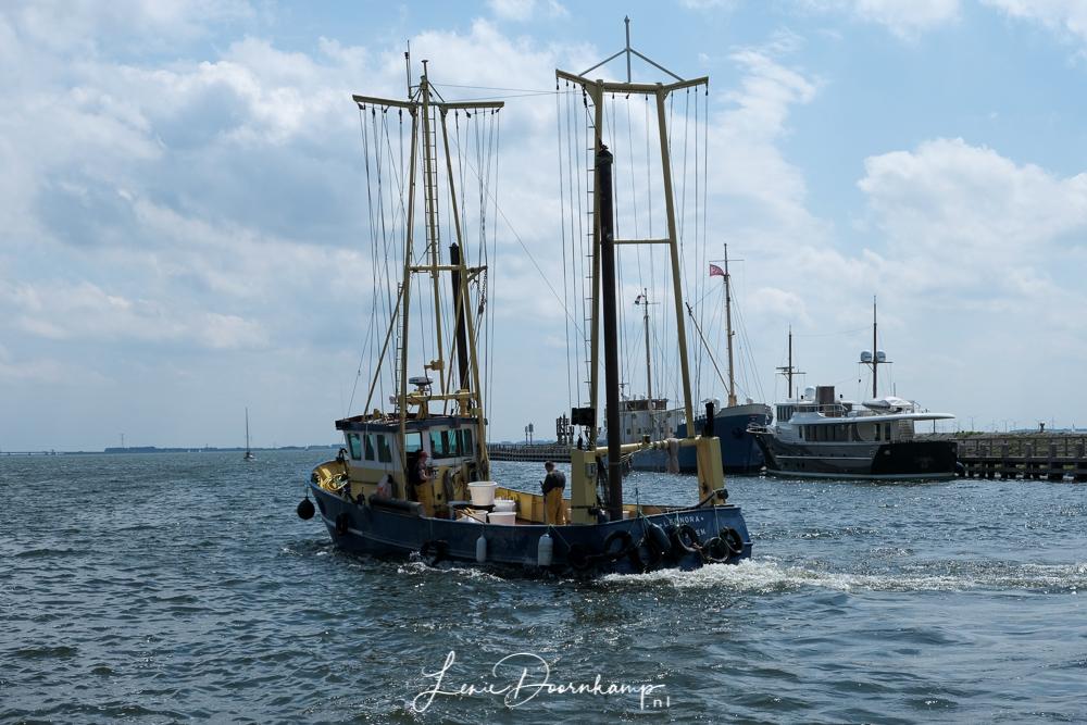vissersboot uit Enkhuizen