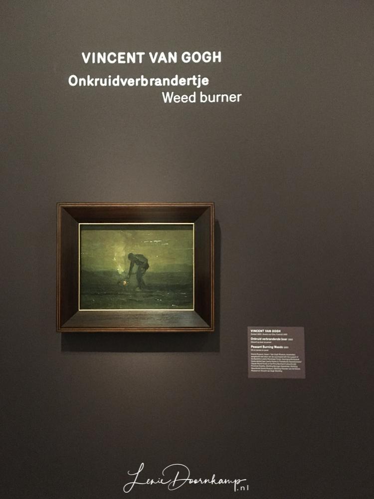 Van Gogh, Onkruidverbrandertje, weed burner